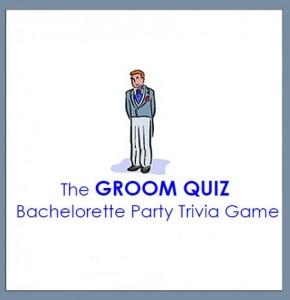 Free Groom Quiz, Groom Quiz, Bridal Party Game, Free Bridal Party Game, Free Bridal Printable, Free Bachelorette Printable