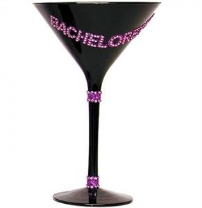 bachelorette martini glass