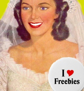Bachelorette party freebies