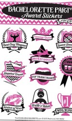 bachelorette stickers